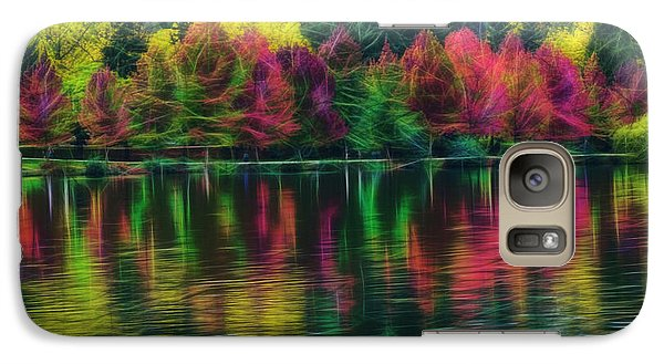 Autumn At Green Lake Seattle Galaxy S7 Case