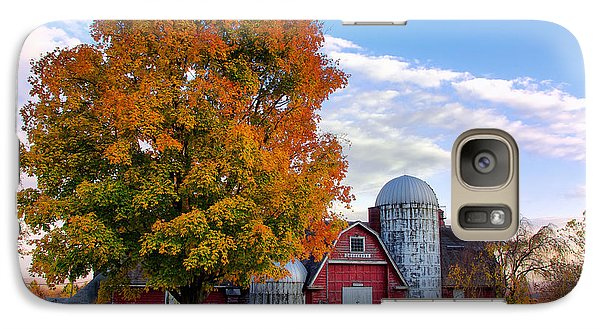 Galaxy Case featuring the photograph Autumn At Lusscroft Farm by Mark Miller
