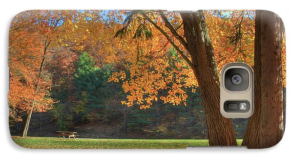 Galaxy Case featuring the photograph Autumn At Lykens Glen by Lori Deiter