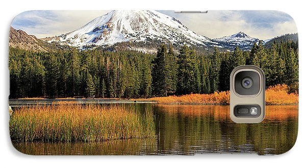 Galaxy Case featuring the photograph Autumn At Mount Lassen by James Eddy