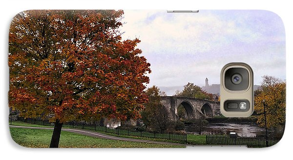 Galaxy Case featuring the photograph Autumn At Stirling Bridge by RKAB Works