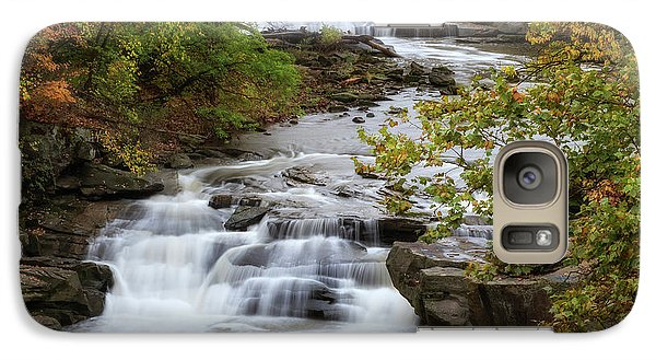 Galaxy Case featuring the photograph Autumn At The Falls by Dale Kincaid