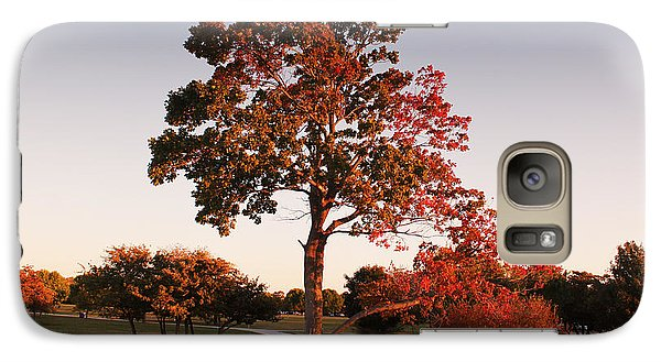 Galaxy Case featuring the photograph Autumn Beauty by Milena Ilieva