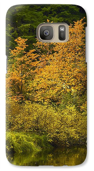 Galaxy Case featuring the photograph Autumn Brilliance by Diane Schuster