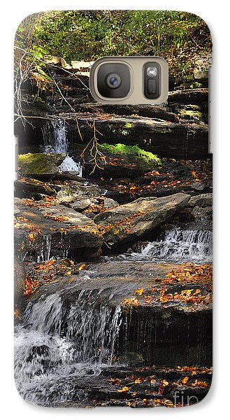 Galaxy Case featuring the photograph Autumn Brook by Diane E Berry