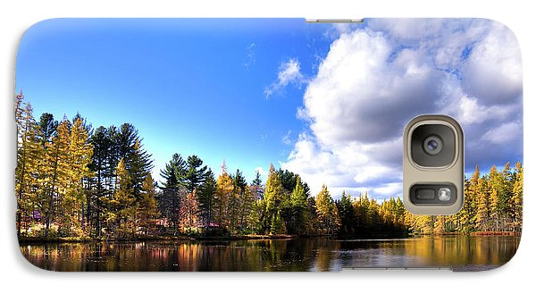 Galaxy Case featuring the photograph Autumn Calm At Woodcraft Camp by David Patterson