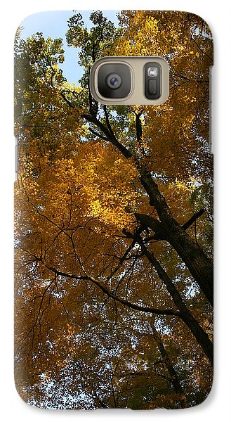 Galaxy Case featuring the photograph Autumn Canopy by Shari Jardina