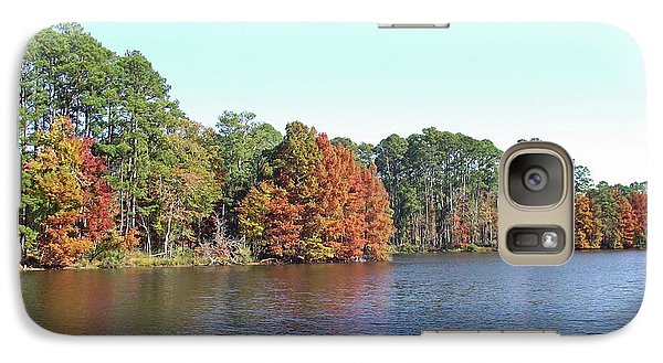 Galaxy Case featuring the photograph Autumn Color At Ratcliff Lake by Jayne Wilson