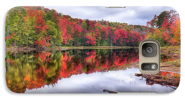 Galaxy S7 Case featuring the photograph Autumn Color At The Pond by David Patterson