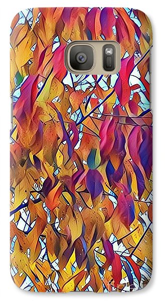Galaxy Case featuring the photograph Autumn Color by Diane Miller