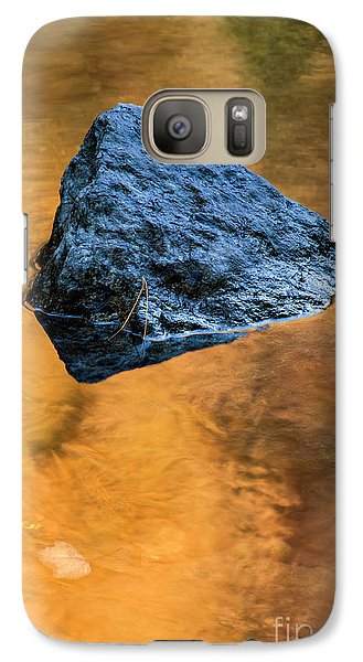 Galaxy Case featuring the photograph Autumn Color On Little River - D009990 by Daniel Dempster