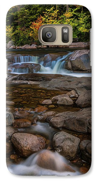 Galaxy Case featuring the photograph Autumn Colors In White Mountains New Hampshire by Ranjay Mitra