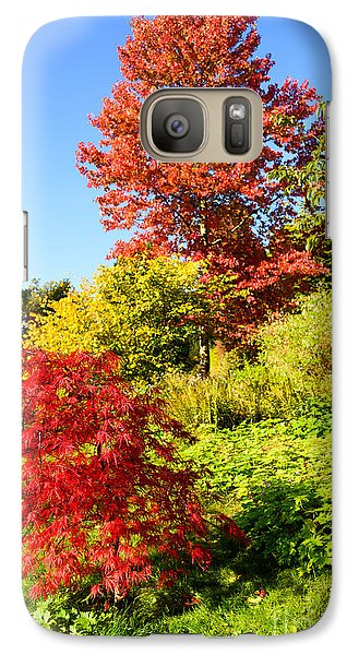 Galaxy Case featuring the photograph Autumn Colours by Colin Rayner
