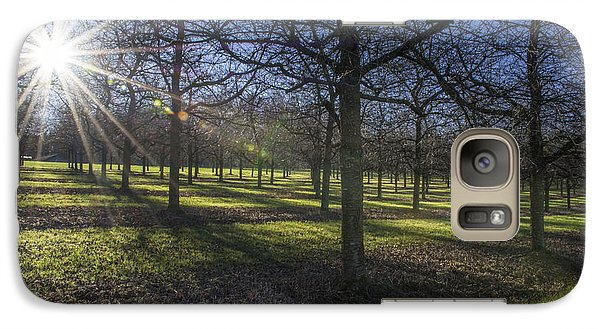 Galaxy Case featuring the photograph Autumn Day by Bruno Santoro