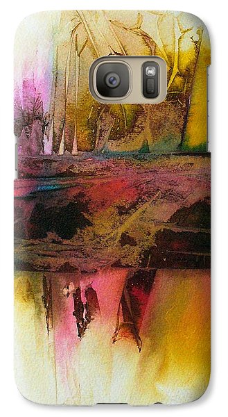 Galaxy Case featuring the painting Autumn Dream by Mary Sullivan