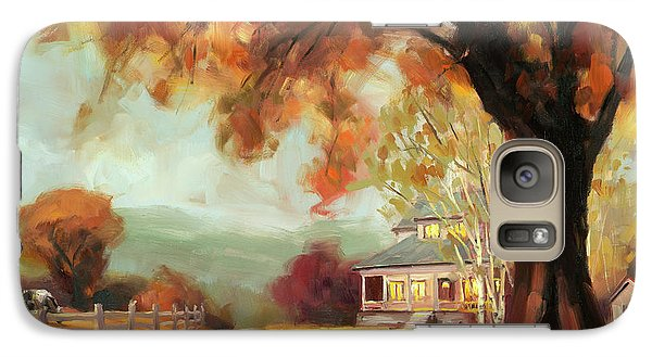 Geese Galaxy S7 Case - Autumn Dreams by Steve Henderson