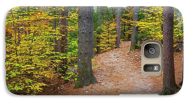 Galaxy Case featuring the photograph Autumn Fall Foliage In New England by Ranjay Mitra