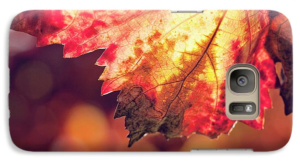 Galaxy Case featuring the photograph Autumn Fire by Melanie Alexandra Price