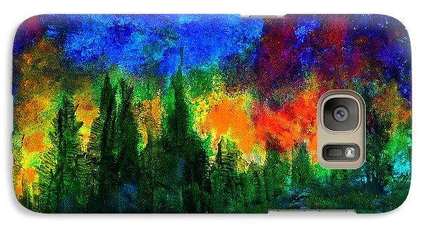 Autumn Fires Galaxy S7 Case