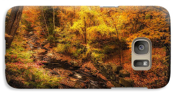Galaxy Case featuring the photograph Autumn Flow by Robert Clifford