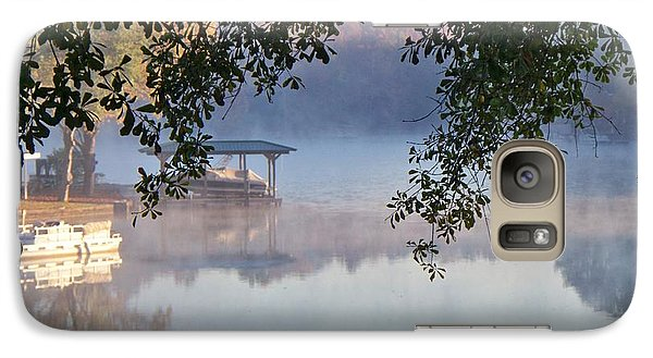 Galaxy Case featuring the photograph Autumn Fog by Betty Northcutt