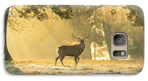 Galaxy Case featuring the photograph Autumn Frost by Scott Carruthers