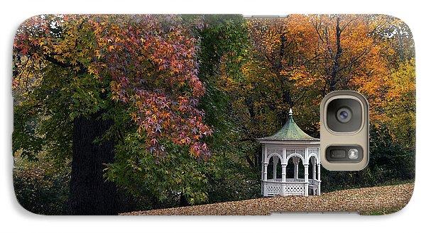 Galaxy Case featuring the photograph Autumn Gazebo by Elsa Marie Santoro
