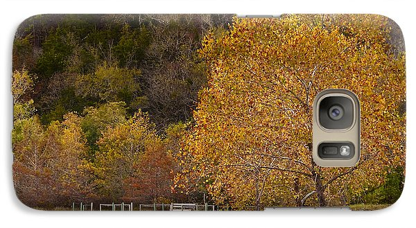 Galaxy Case featuring the photograph Autumn Glory In Beaver's Bend by Tamyra Ayles