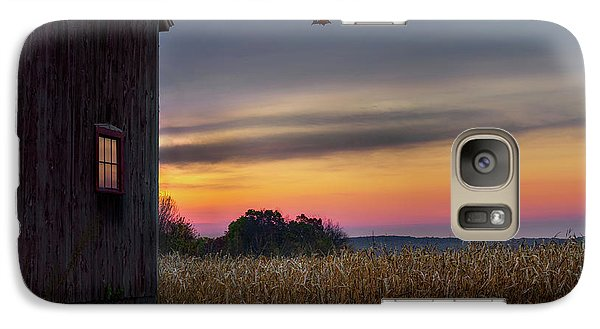 Galaxy S7 Case featuring the photograph Autumn Glow by Bill Wakeley