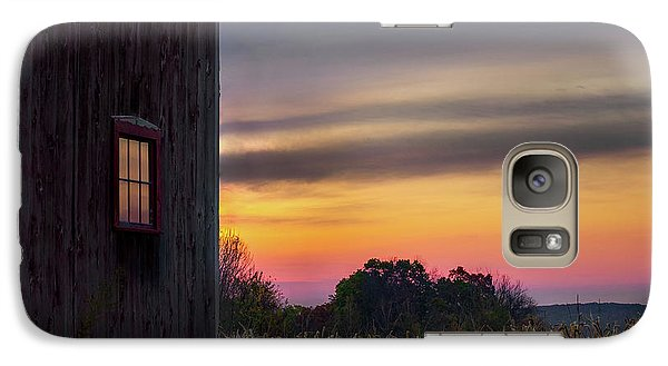 Galaxy S7 Case featuring the photograph Autumn Glow Square by Bill Wakeley