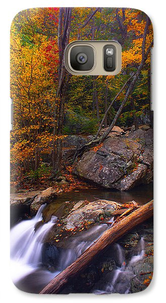 Galaxy Case featuring the photograph Autumn Gold by Everett Houser