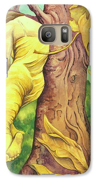 Galaxy Case featuring the painting Autumn Grace by Sheri Howe