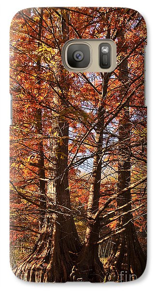 Galaxy Case featuring the photograph Autumn Grandeur At Lake Murray by Tamyra Ayles