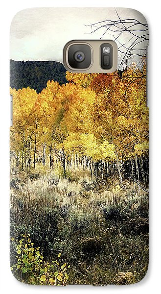 Galaxy Case featuring the photograph Autumn Hike by Jim Hill