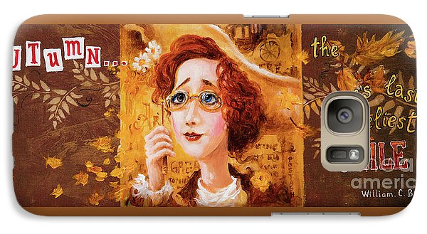 Galaxy Case featuring the painting Autumn by Igor Postash