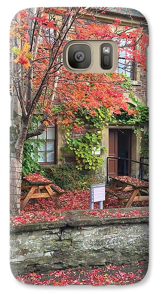 Galaxy Case featuring the photograph Autumn In Dunblane by RKAB Works