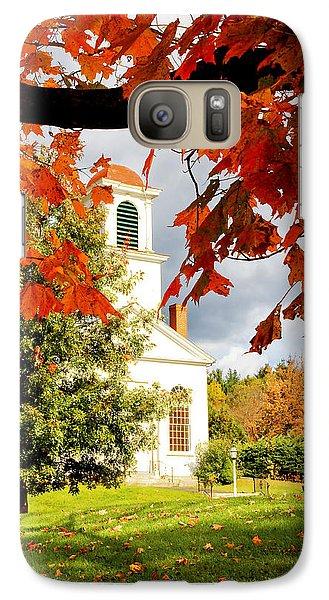 Autumn In Gilmanton Galaxy S7 Case