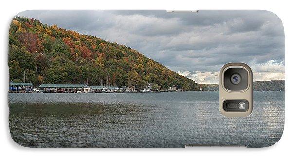 Galaxy Case featuring the photograph Autumn In Hammondsport by Joshua House
