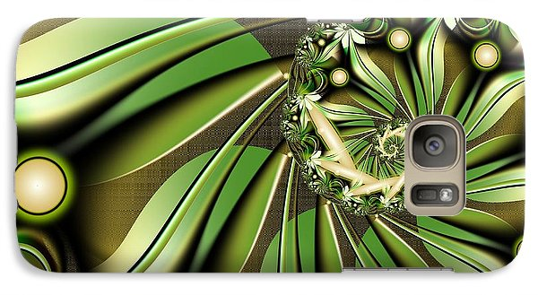 Galaxy Case featuring the digital art Autumn In Hawaii by Michelle H