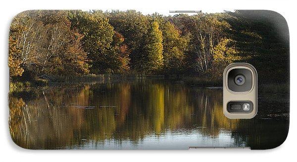 Galaxy Case featuring the photograph Autumn In Mears Michigan by Tara Lynn