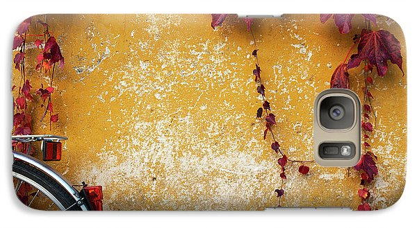 Galaxy Case featuring the photograph Autumn In Red by Yuri Santin