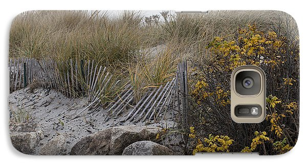 Galaxy Case featuring the photograph Autumn In The Dunes by Andrew Pacheco