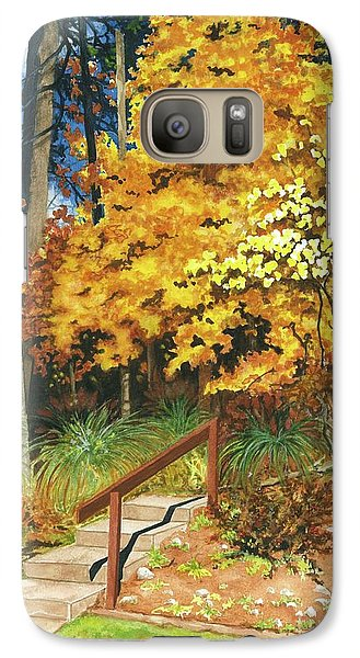 Galaxy Case featuring the painting Autumn Invitation by Barbara Jewell
