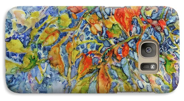 Galaxy Case featuring the painting Autumn Lace by Joanne Smoley
