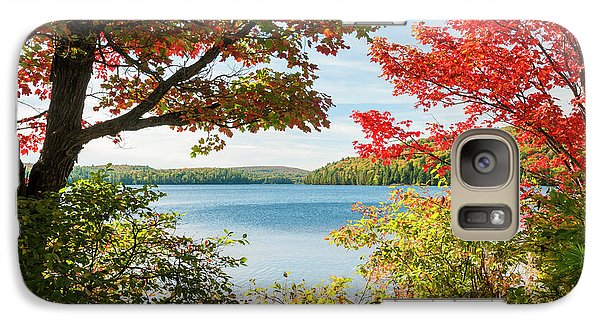 Galaxy Case featuring the photograph Autumn Lake by Elena Elisseeva