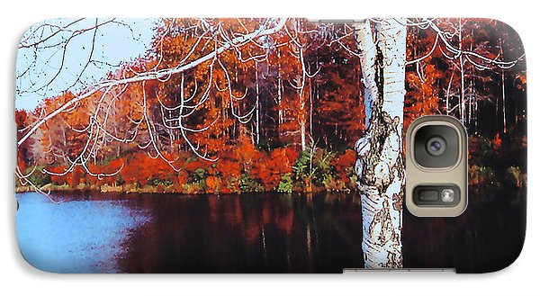 Autumn Lake Galaxy S7 Case