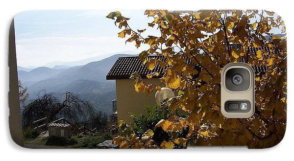 Galaxy Case featuring the photograph Autumn Leaves by Judy Kirouac