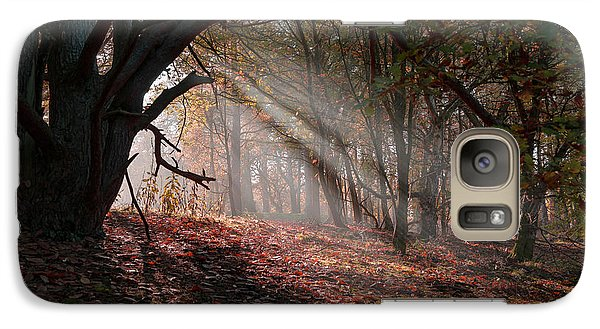 Galaxy Case featuring the photograph Autumn Light  by Scott Carruthers