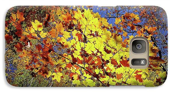 Autumn Light Galaxy S7 Case by Tatsuya Atarashi