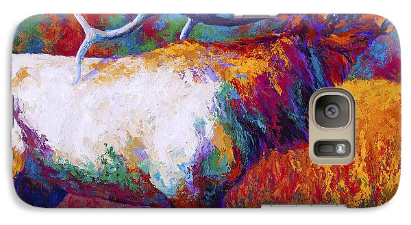 Bull Galaxy S7 Case - Autumn by Marion Rose